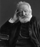 Victor Hugo's signature pose